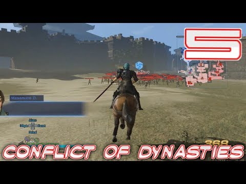 [5] Conflict of Dynasties (Let's Play Dynasty Warriors 8 Empires)