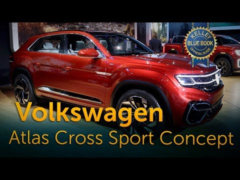 Volkswagen Atlas Cross Sport Concept - 2018 New York Auto Show