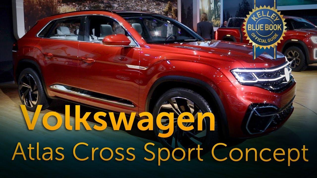 volkswagen atlas cross sport concept   york auto show youtube