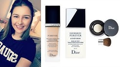 DiorSkin Forever Base, Foundation & Powder Review (Acne/Scarring)