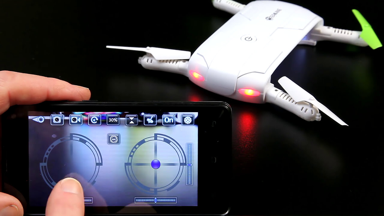 How to Fly a Drone Quad with Phone using WiFi UFO or Wifi FPV App фото