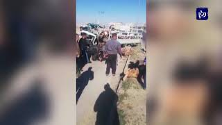 وفاة وسبع إصابات إثر حادث سير وقع على طريق الحزام الدائري - (25-12-2018)
