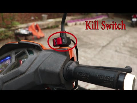Install Kill Switch on Scooty | Honda Dio Scooty