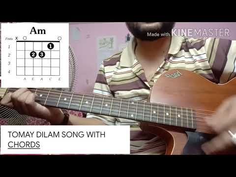 TOMAY DILAM SONG GUITAR COVER BY MRSHL  WITH CHORDS