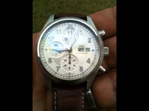 Iwc Spitfire Chronograph 3717 01