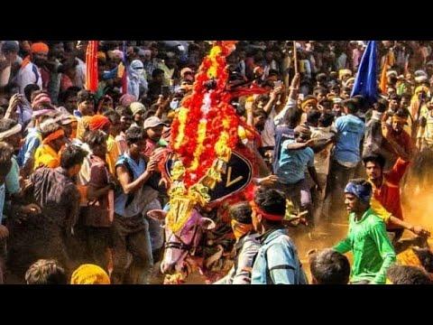 #Hangalhorihabba_hori Habba_ಕರ್ನಾಟಕದ ನಂದಿ ಹೋರಿ ಕೈ ಹಾಕ್ಯಾನ ಪೀ ಪೀ_karnatakada Nandi Hori Kai Hakyana