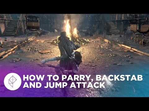 How to do Bloodborne's three best secretive moves, called visceral attacks