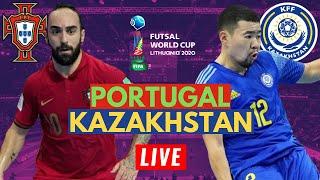 Portugal 2 2 Kazakhstan 4 3 on Penalties FIFA Futsal World Cup 2021 Live Stream Watch Along