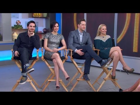'One Upon a Time' Cast in Times Square