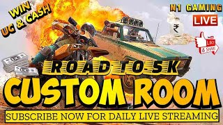 PUBG Mobile Live Custom Rooms | Unlimited UC Giveaway | Anyone Can Join  | N1 Gaming