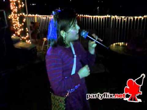 Singer Sara G performs during karaoke night (02/10/12).