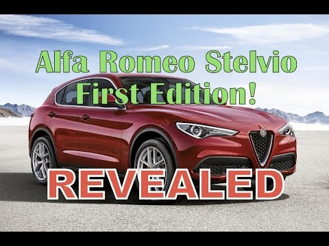 revealed alfa romeo stelvio first edition youtube. Black Bedroom Furniture Sets. Home Design Ideas