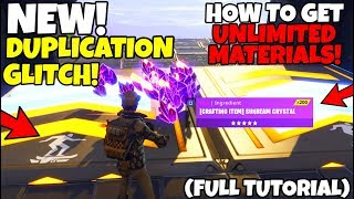 *NEW* Unlimited Materials/Resources Duplication Glitch! (FULL TUTORIAL) Fortnite Save The World