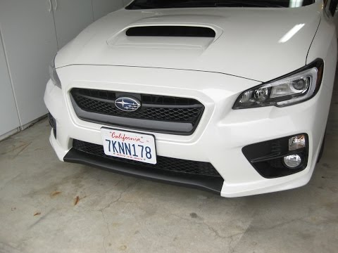2015 Subaru WRX Limited: Ep. 209: Plastidip Your Lower Middle Bumper