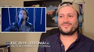 🇪🇪ESC 2019 Reaction to ESTONIA!🇪🇪