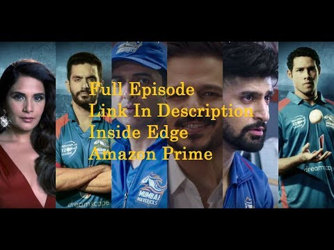 Amazon Inside Edge S01E01 720p WEBRip x264 - GRINGO