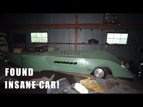 Found Rare Jet Engine Car In Abandoned Laboratory!