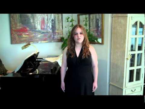 HL Vocal Sarah Jo Martin