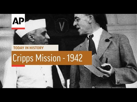 Cripps Mission - 1942 | Today In History | 22 Mar 18