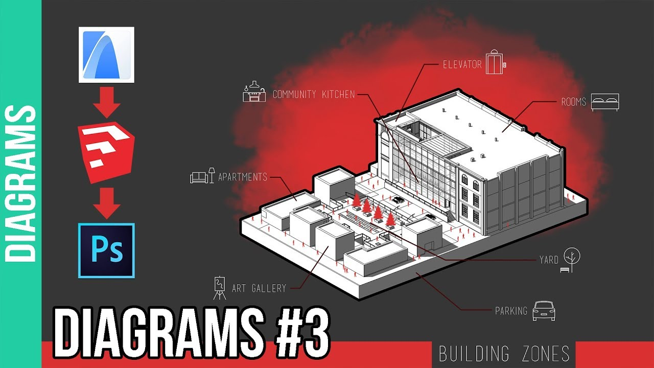 How to create architecture diagrams 3 youtube how to create architecture diagrams 3 sciox Images