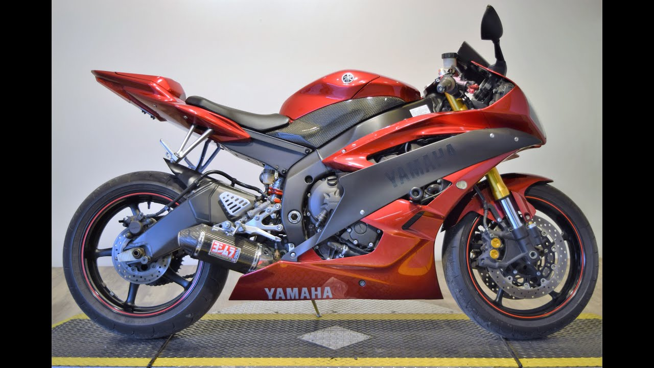 2007 yamaha r6 for sale at monster powersport youtube. Black Bedroom Furniture Sets. Home Design Ideas
