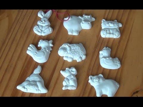 Hervorragend Gipsfiguren gießen / gegen Kinderlangeweile - YouTube PM48