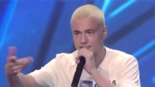 """Amazingly imitated Eminem in """"CzechoSlovakia Got Talent"""""""