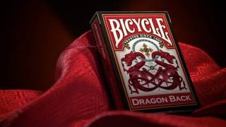 Playing Cards: Bicycle Dragon Backs Deck Review