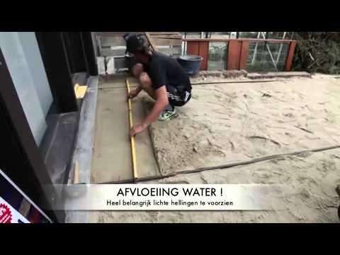 Tegels Leggen Tuin : Hoe bestrating sierbestrating tuintegels aanleggen als oprit