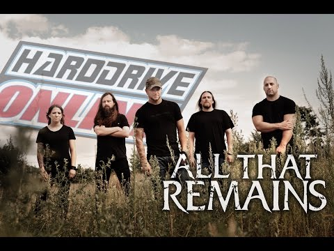 ALL THAT REMAINS' Phil Labonte and Mike Martin talk shop with hardDrive