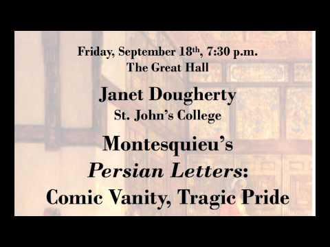 """Montesquieu's Persian Letters: Comic Vanity, Tragic Pride"" by Janet Dougherty"