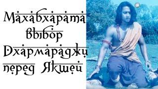 Махабхарата Выбор Дхармараджи перед Якшей