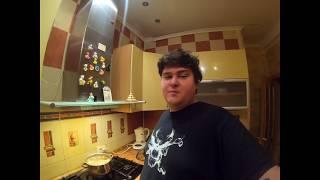готовлю холостяцкий суп из утки