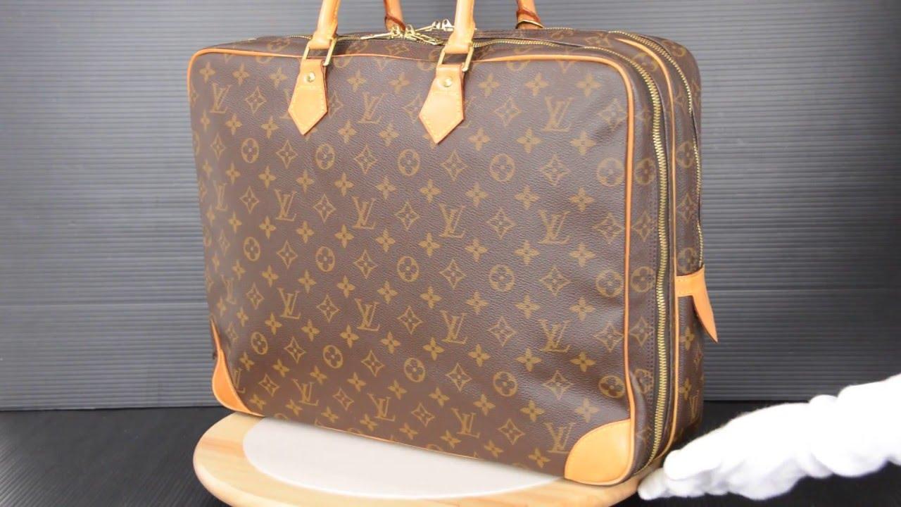 cffb860333 ilovekawaii C01188 - Louis Vuitton Monogram Porte Documents Voyage 2  Compartment M53362