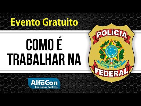 Como é Trabalhar na PF? Carreiras Policiais #1 - AlfaCon