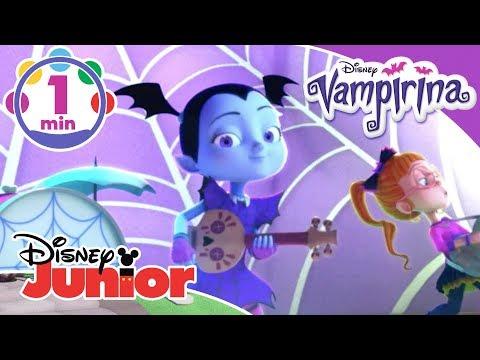 Vampirina | 'The Ghoul Girls Are Back' Halloween Sing Along Music Video 🎶 | Disney Junior UK
