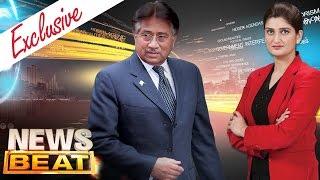 Pervez Musharraf Exclusive | News Beat | SAMAA TV | Paras Jahanzeb | 12 Mar 2017