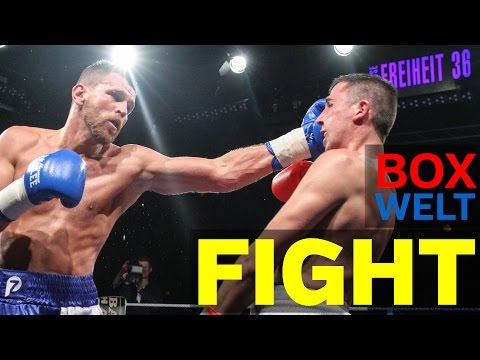 Jürgen Doberstein vs Istvan Zeller - 8 rounds Super Middleweight - 04.12.2016 - Hamburg