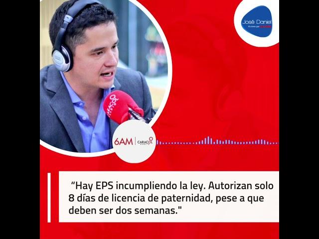 Entrevista 6AM Caracol Radio ¡No le hagan conejo a la ley de Licencia Compartida!