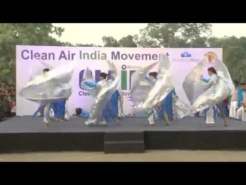 Clean Air India Movement (CLAIM) mesmerising dance performance motivating people!!