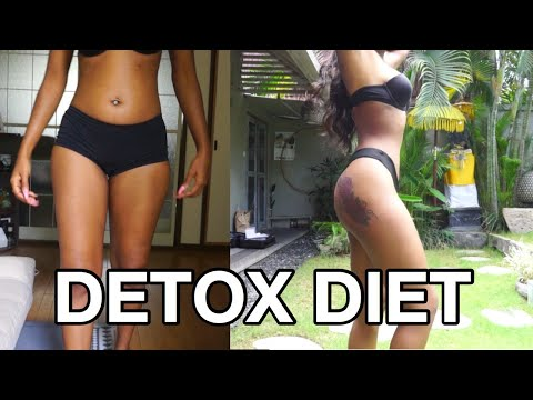 ONE MONTH DETOX WEIGHT LOSS DIET! LOSE WEIGHT AND FEEL GREAT | Ft. TEAMI thumbnail