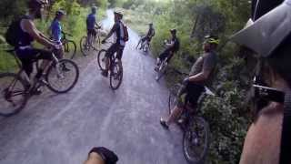 Don Valley Trail Ride: Serena Gundy, Link, Lower Don, Loblaws