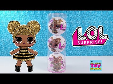 LOL Surprise Doll Glitter Series 3 Pack Tube Toy Review Opening   PSToyReviews