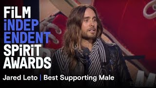 Jared Leto - Best Supporting Male | 2014 Film Independent Spirit Awards
