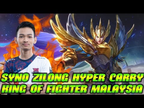 Syno Zilong Hyper Carry !! King Of Fighter Malaysia !! Syno Gameplay Mobile Legends