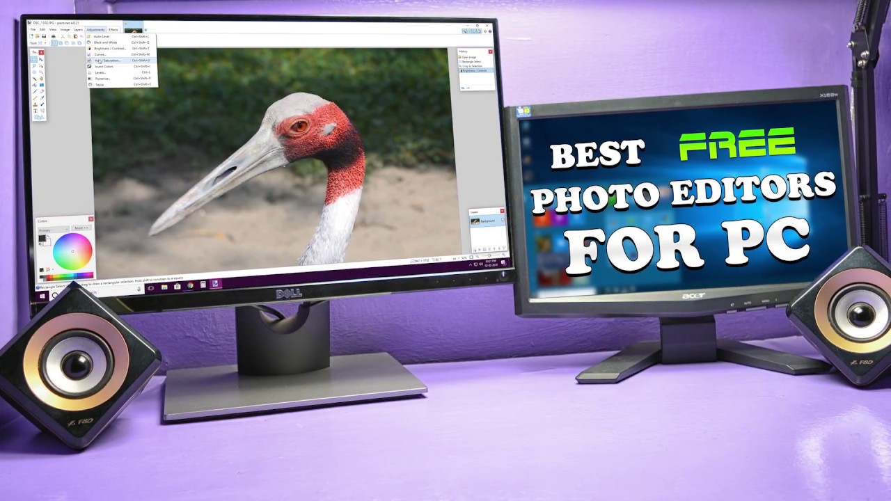 Top 3 Best Photo Editing Software for Windows 7.Windows 8(8.1) & Windows 10 2018(FREE) - YouTube