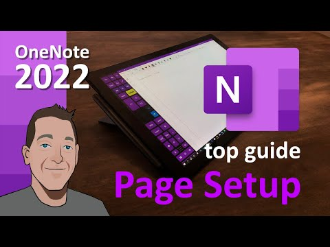 OneNote Page setup - Do these 3 things! (2019 top guide)
