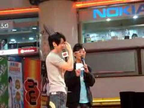 Nicholas Teo From Now On 2008 Live In Malaysia