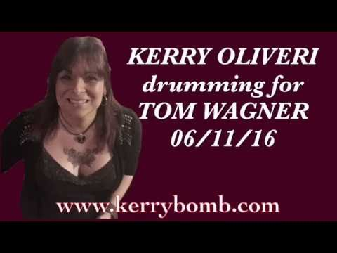 Kerrybomb drumming for Tom Wagner