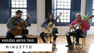 Violões Artes Trio - Minuetto | Luigi Bocherini
